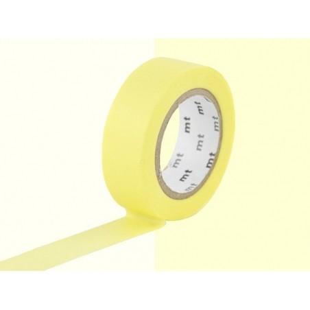Acheter Masking tape uni - jaune citron pastel - 2,90€ en ligne sur La Petite Epicerie - Loisirs créatifs