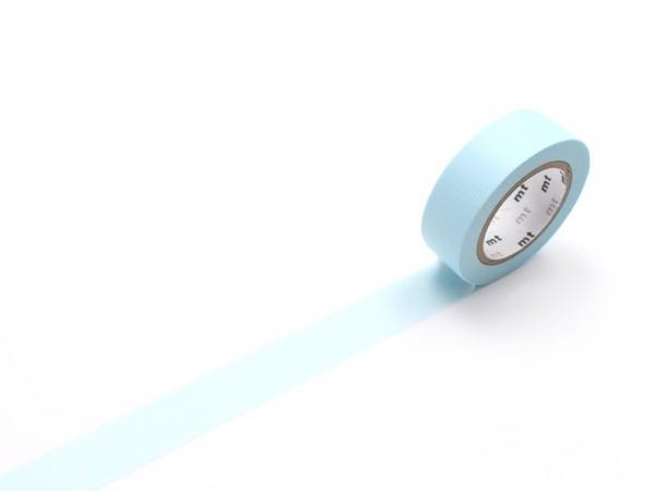 Masking tape uni - bleu poudré pastel Masking Tape - 1