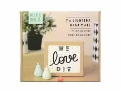 Kit MKMI - Ma lightbox handmade - DIY La petite épicerie - 1