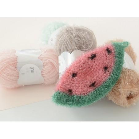 Creative Bubble yarn - mint green