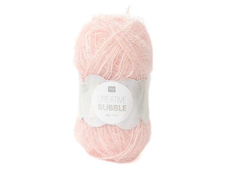 Creative Bubble yarn - light pink