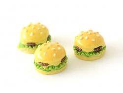 Cabochon hamburger