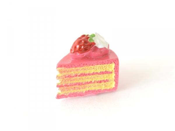 Acheter Cabochon part de gâteau à la fraise - 0,99€ en ligne sur La Petite Epicerie - Loisirs créatifs