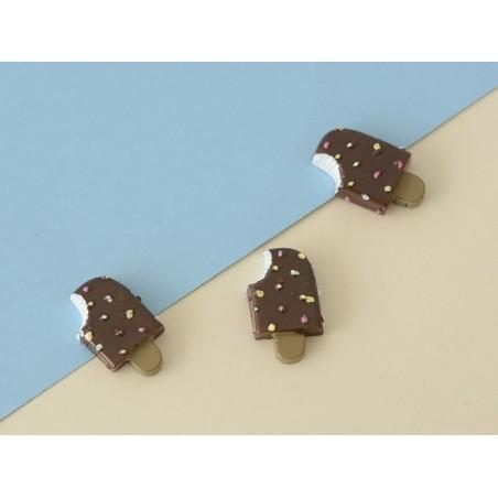 Chocolate pospsicle cabochon