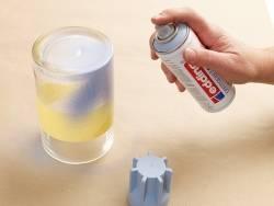 Permanent spray (spray can) - Acrylic paint - mat light lavender