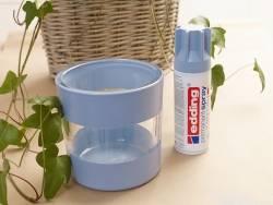 Spray can - transparent acrylic varnish - satin finish