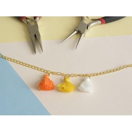 Acheter Pendentif pompon - ivoire - 0,59€ en ligne sur La Petite Epicerie - 100% Loisirs créatifs