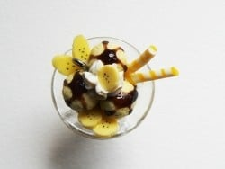 Coupe glacée banana split