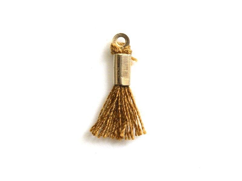 Acheter breloque mini-pompon - marron - 0,29€ en ligne sur La Petite Epicerie - Loisirs créatifs