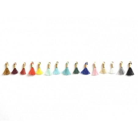 Acheter breloque mini-pompon - rouge brique - 0,29€ en ligne sur La Petite Epicerie - Loisirs créatifs