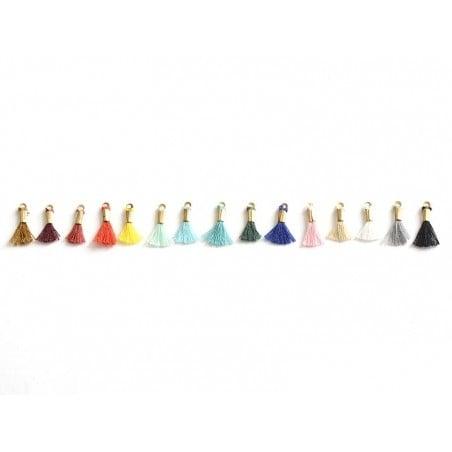 Acheter breloque mini-pompon - rouge vermillon - 0,29€ en ligne sur La Petite Epicerie - 100% Loisirs créatifs