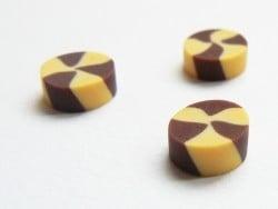 3 petits sablés vanille-chocolat