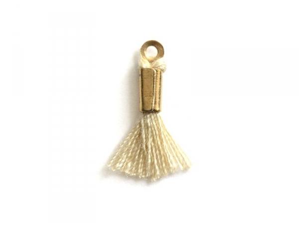 Acheter breloque mini-pompon - beige - 0,29€ en ligne sur La Petite Epicerie - 100% Loisirs créatifs
