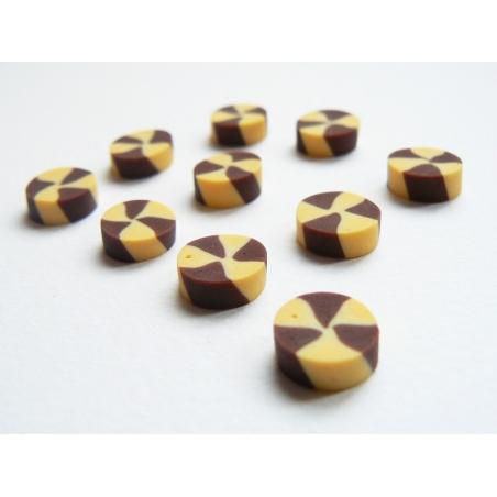 3 petits sablés vanille-chocolat  - 2