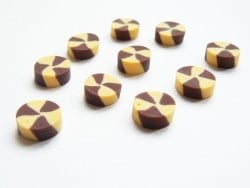3 petits sablés vanille-chocolat  - 3