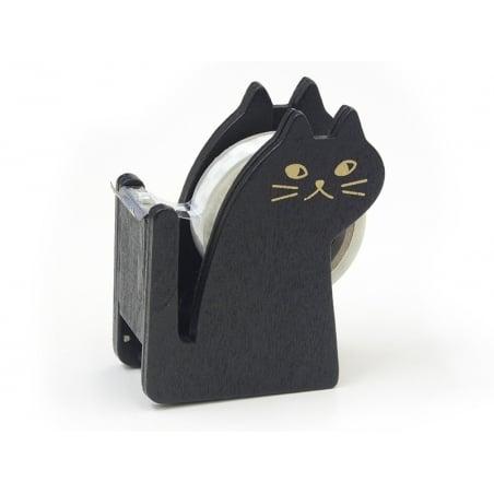 Dévidoir à ruban adhésif en forme de chat - noir Masking Tape - 8