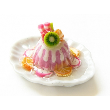 Magnifique miniature PUDDING CAKE