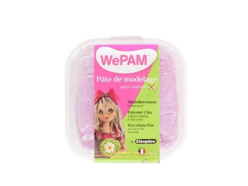 WePam clay - violet glitter