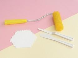 Multi-purpose painting comb