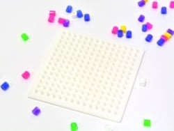Pegboard for classic HAMA MIDI beads - square