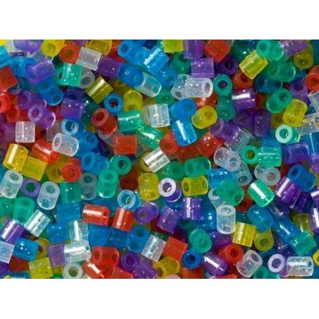 Sachet de 1000 perles HAMA MIDI classiques - translucide paillettes 54 Hama - 5