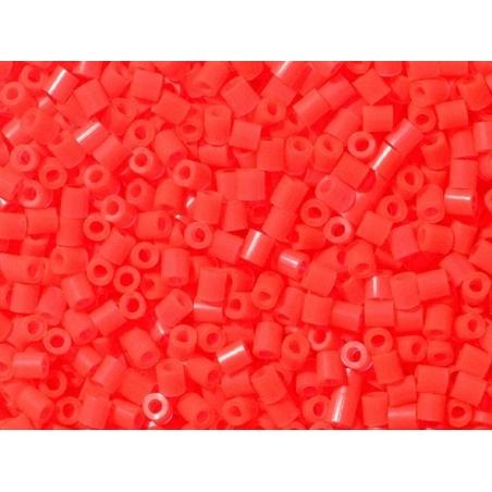 Sachet de 1000 perles HAMA MIDI - rouge fluo translucide 35 Hama - 5