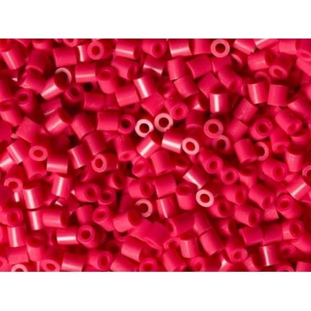 Bag of 1,000 HAMA MIDI beads - raspberry red