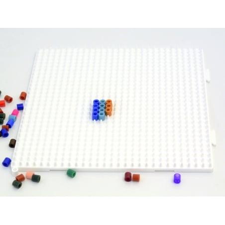 Plaque support assemblable pour perles HAMA MIDI classiques - grand carré