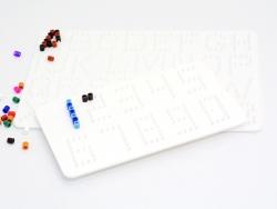 Plaques support pour perles HAMA MIDI classiques - Chiffres et lettres Hama - 6
