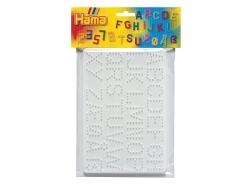 Plaques support pour perles HAMA MIDI classiques - Chiffres et lettres Hama - 7