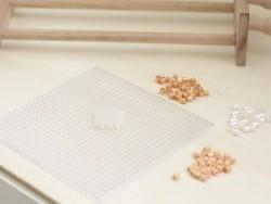 Bag of 1,000 HAMA MIDI beads - cream