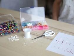Bag of 1,000 HAMA MIDI beads - pink