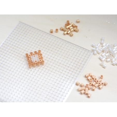 Bag of 1,000 HAMA MIDI beads - silver
