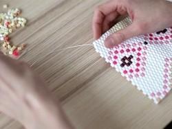 Sachet de 1000 perles Hama MIDI - bicolore blanc 91 Hama - 6