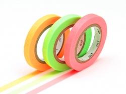 Masking tape trio slim I - couleurs fluo Masking Tape - 1