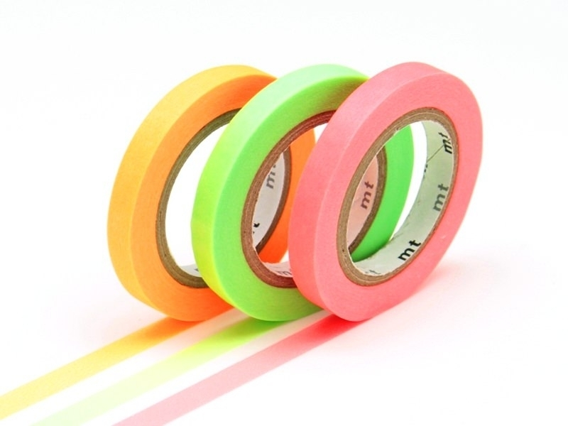 Acheter Masking tape trio slim I - couleurs fluo - 3,99€ en ligne sur La Petite Epicerie - Loisirs créatifs