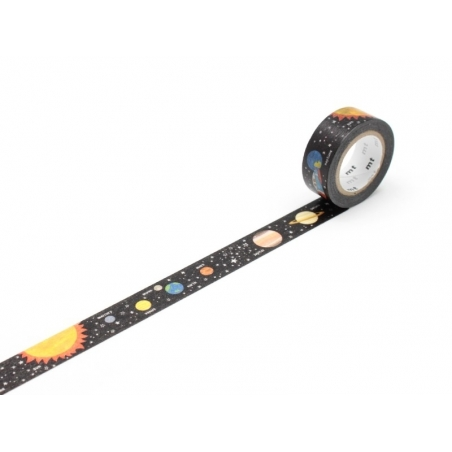 Masking Tape Kids (with a pattern) - Planets
