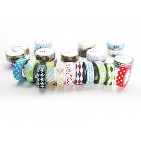 Masking Tape Kids (with a pattern) - Trips and Hobbies