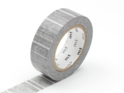 Masking tape with a pattern - Fine black stripes