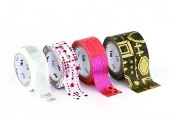 Masking tape métallisé - Etoiles