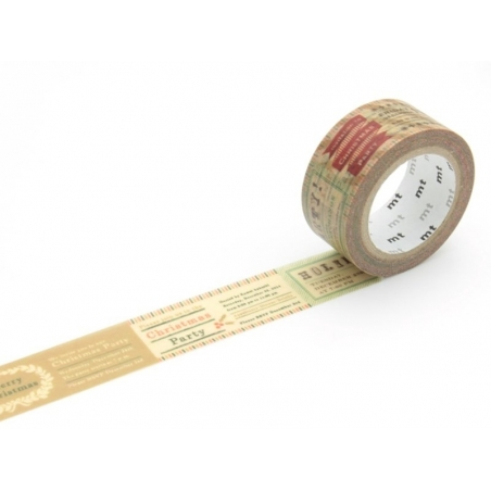 Christmas masking tape - vintage