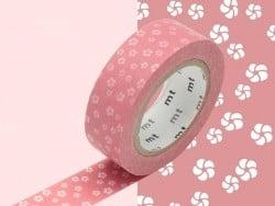 Patterned masking tape - Nejiriume haru