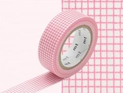 Patterned masking tape - Peach Hougan design