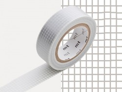 Masking Tape motif - carreaux argentés Masking Tape - 4