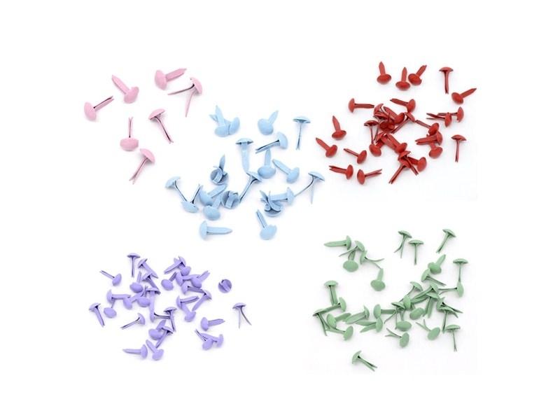 Acheter 50 attaches parisiennes colorées - 3,50€ en ligne sur La Petite Epicerie - 100% Loisirs créatifs