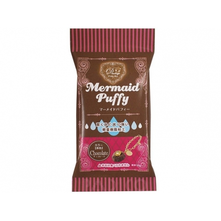 Mermaid Puffy - chocolate