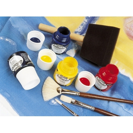 Transparent fabric paint - turquoise