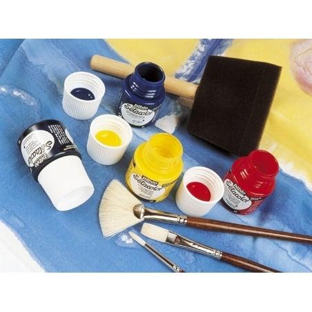 Transparent fabric paint - fuchsia