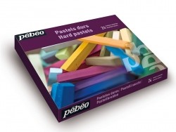 Set of 24 hard pastels