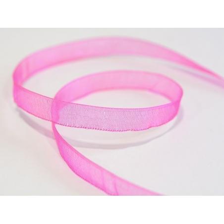 Acheter 1 m de ruban organza 6 mm - rose - 0,39€ en ligne sur La Petite Epicerie - Loisirs créatifs